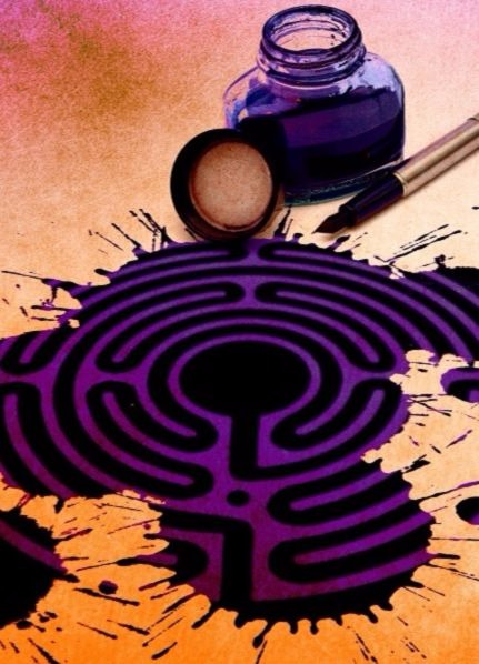 Labyrint als pelgrimsweg