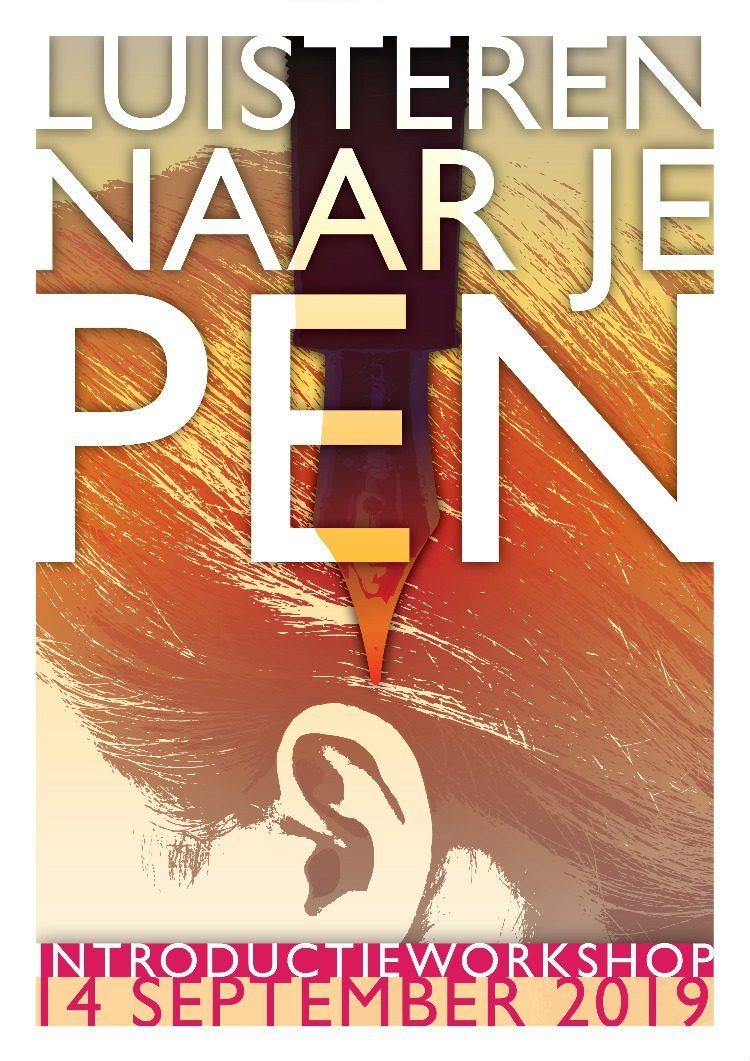 Luisteren naar je pen<sup>©</sup> – landelijke introductieworkshop