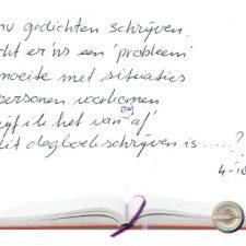 Is dit dagboekschrijven? (5)