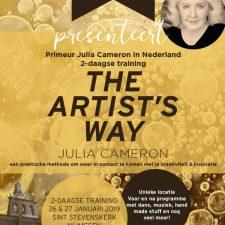 Julia Cameron komt naar Nederland