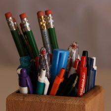 Pennen – een schrijfoefening