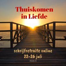 Thuiskomen in Liefde – schrijfretraite (online)