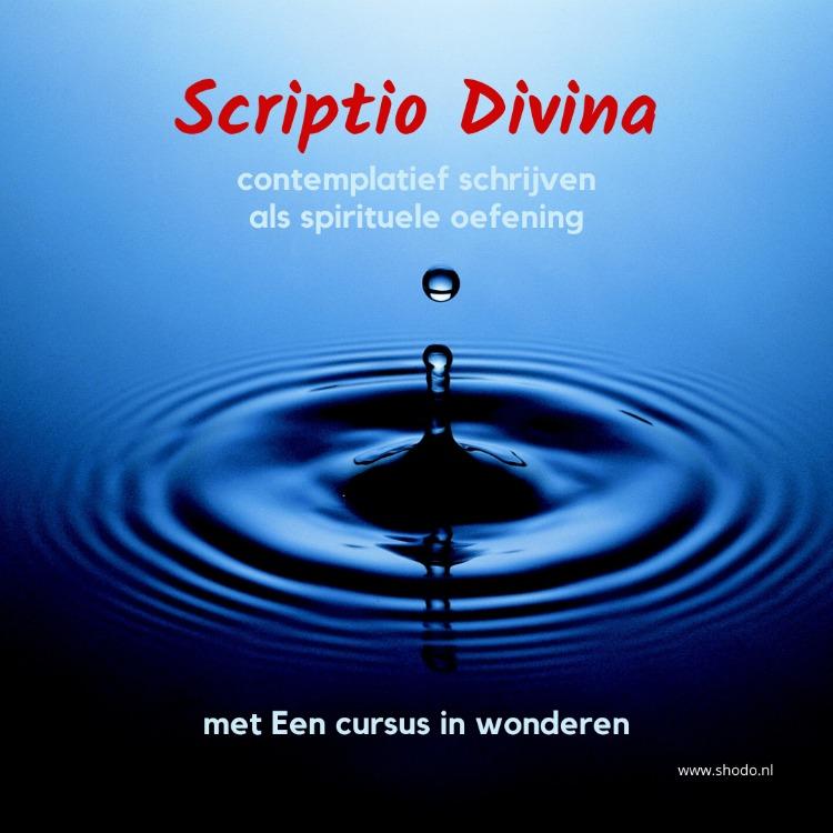 Scriptio Divina wordt uitgebreid