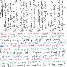 Inspiratiekaarten met jouw schrijfoefeningen